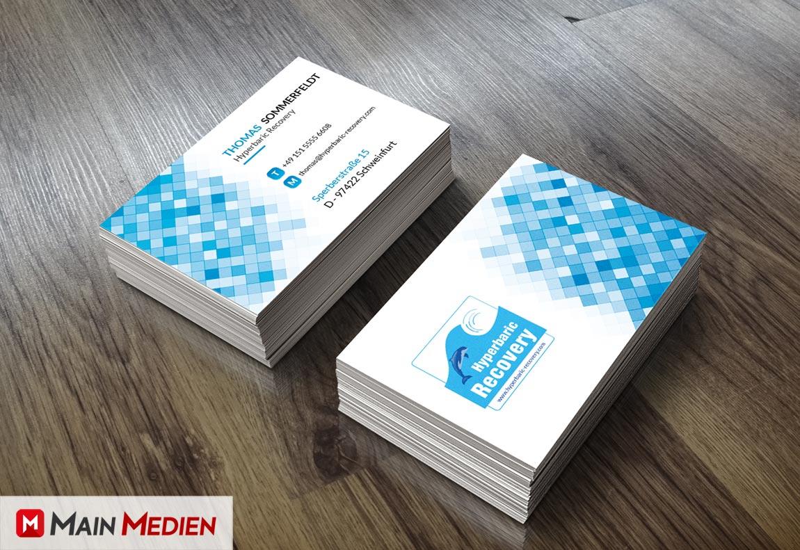 Visitenkarten Erstellung Aus Schweinfurt Main Medien